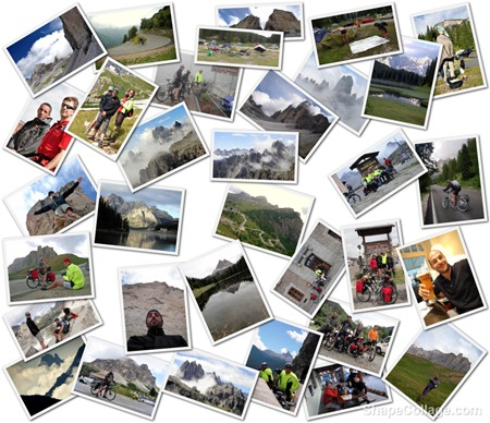 Collage Dolomites