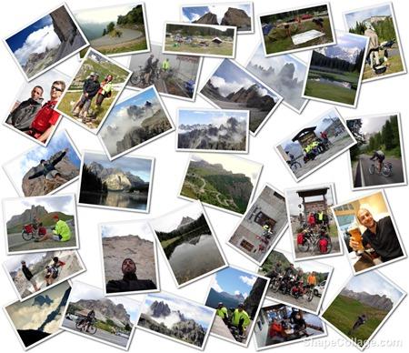 Collage Dolomites