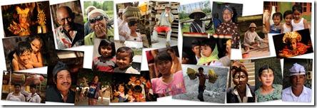 Visages Indonésiens
