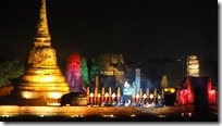 Ayutthaya, festival de l'UNESCO, show sur l'histoire de la ville