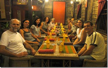 Nouvel an familial à Siem Reap