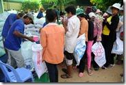 PSE : distribution de riz aux familles en compensation
