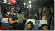 Train pour Urumqi, départ du train