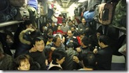Train pour Urumqi, situation normale pendant qu'on roule