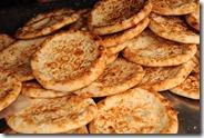 Les pains ouigours, au sésame, aux oigons, ou aux graines de pavos
