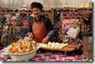 Etals de nourriture : pains à la viande de mouton, gras mais savoureux