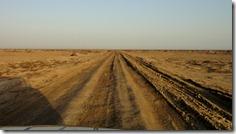 Sur la piste pour la mer d'Aral