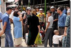 Bazar Zelyony à Turmenabat, gros succès
