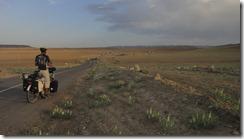 Sur la route vers le caravansérail Rubat Sharaf