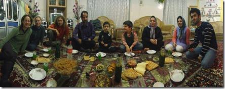 Repas chez Yaser
