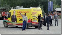 Partisans kurdes pour la campagne aux législatives