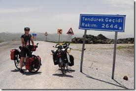 Col Tendurek Geçidi, 2644 m