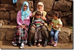 Nos hôtes du village du Nemrut