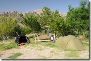 Camping à l'auberge, le luxe !
