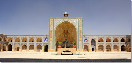 Esfahan, mosquée Jameh aux styles qui se sont succédés du 11ème au 18ème siècle
